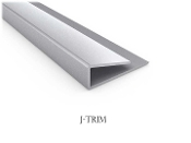 Trim for Diamond Plate & Wall Panel Thermoplastic Sheets