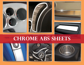 Exterior Chrome ABS thermoplastic sheet