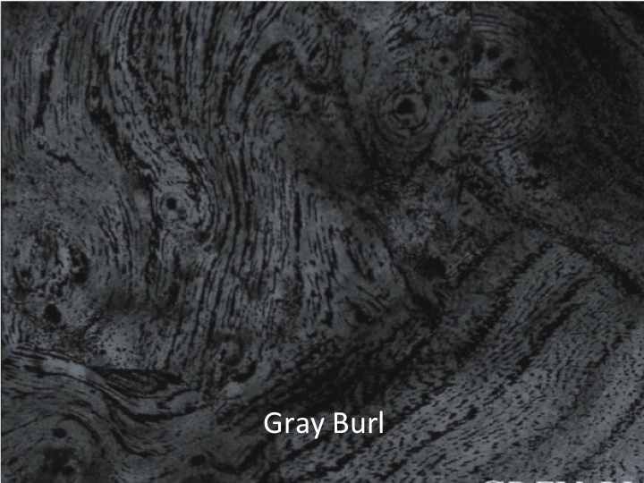 Gray Burl ABS sheet